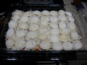 Second Layer, Easy Bake Ravioli