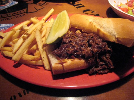 BBQ Pulled Pork Sandwich..yum!